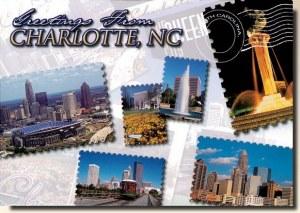 A postcard from Charlotte, NC (Natalie & Kyra)