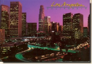 A postcard from Los Angeles, CA (JT, Danika, Megan, Nina and Anne)
