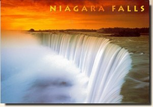 A postcard from Niagara falls (Claire & Christophe)