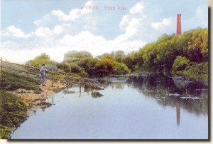A set of postcards of Tula city, sent from Moscow (Elvira 1/2)