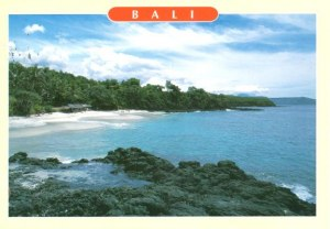 Bali Carte Continent.A Postcard From Bali Nia