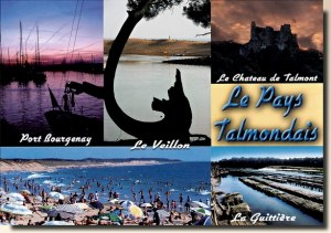 A postcard from Talmont (Sandrine)